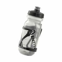 Entity WB600 Water Bottle + Entity BC45 Side-Pull Bottle Cage Bundle