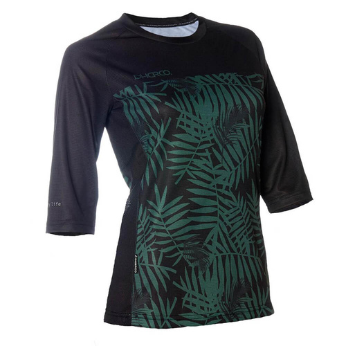 DHaRCO Ladies 3/4 Sleeve Jersey | Camo Fern