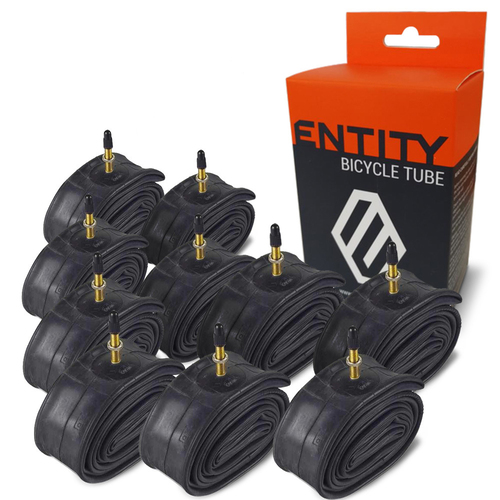 10x Entity Inner Tube 27.5x1.5-2.5 Presta Valve 650b Mountain Bike